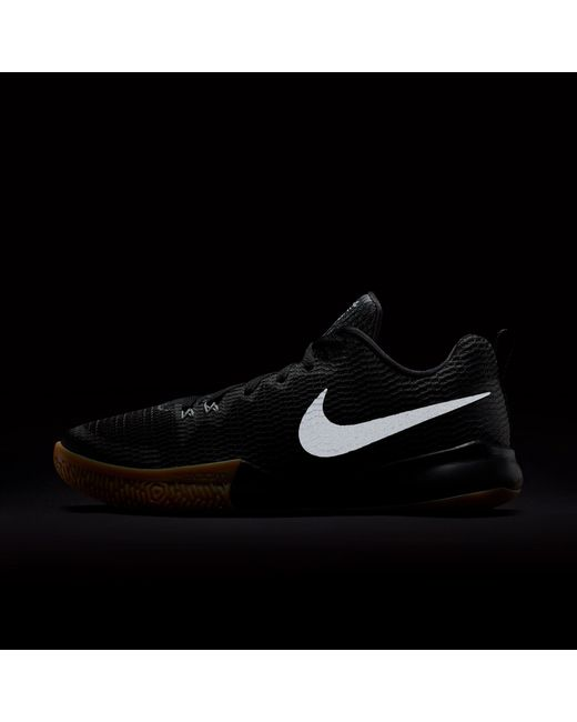 ab7514155619 ... Nike - Black Zoom Live Ii Basketball Shoes for Men - Lyst