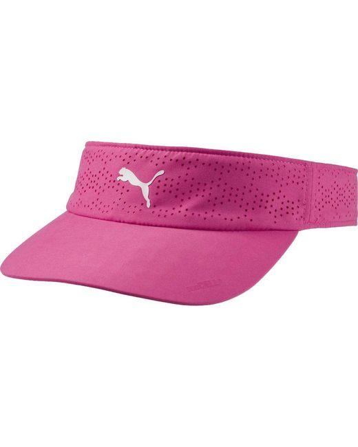 ... PUMA - Pink Duocell Golf Visor - Lyst 40a25e9c4bd