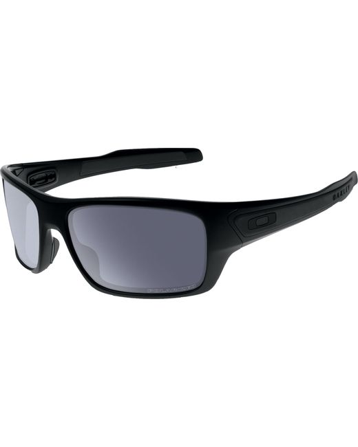b99f7b3f17 Oakley - Black Turbine Polarized Sunglasses for Men - Lyst ...