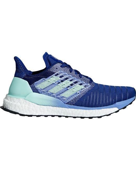 lyst adidas solare spinta scarpe da corsa in blu per gli uomini.