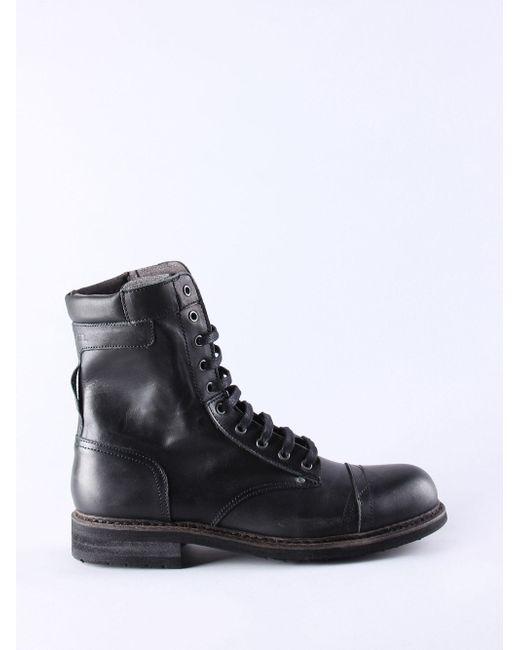 DIESEL | Black Ankle Boots for Men | Lyst