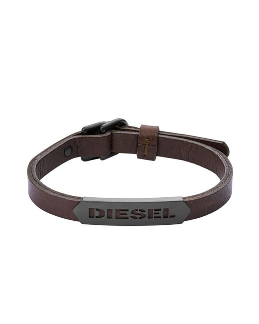 DIESEL | Brown Bracelet Dx1001 for Men | Lyst
