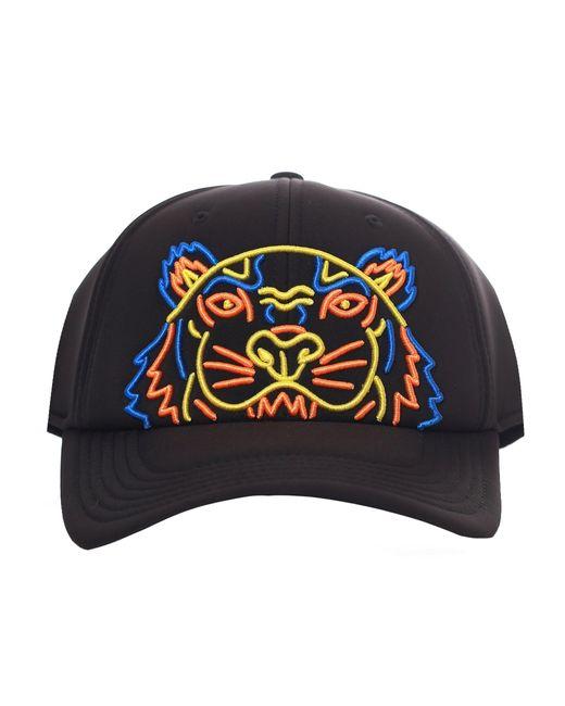 KENZO - Men's Tiger Neoprene Cap Black for Men - Lyst