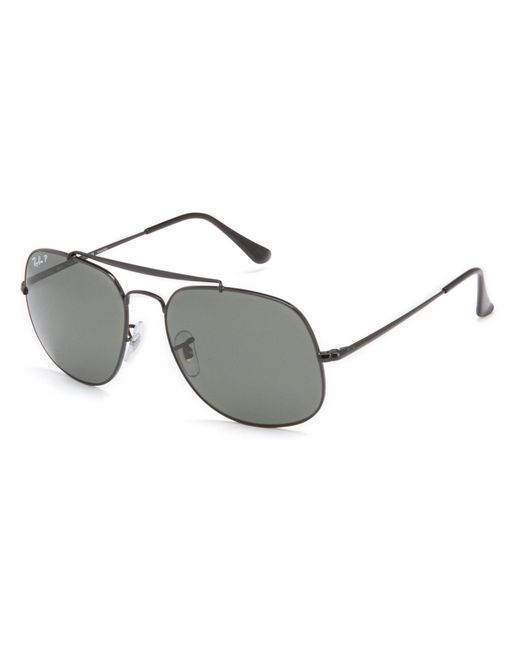 Ray-Ban - Black The General Polarized Square Sunglasses for Men - Lyst