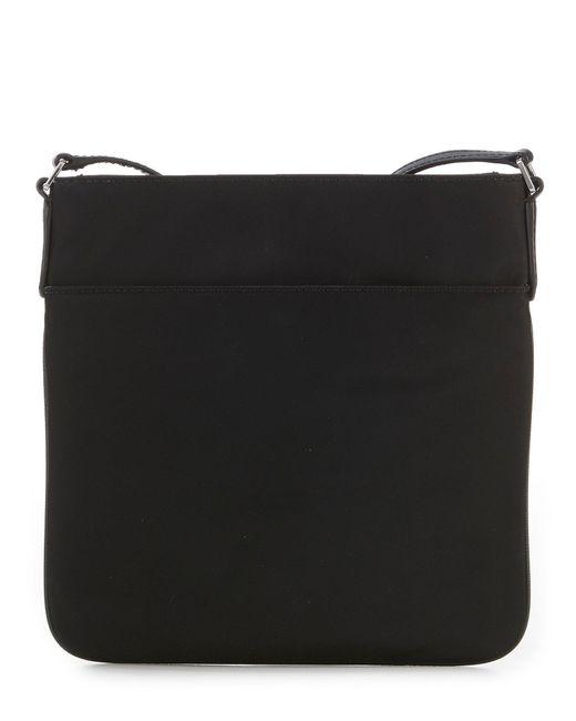3086a6a3c04e ... MICHAEL Michael Kors - Black Kelsey Nylon Large Cross-body Bag - Lyst  ...