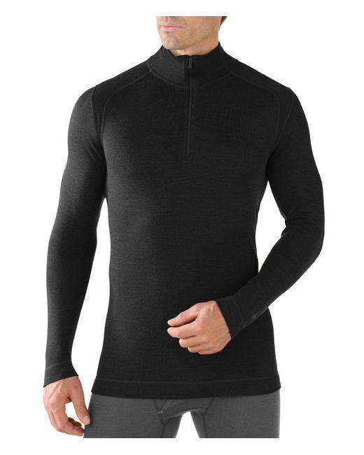 Smartwool - Black Long-sleeve Nts Mid 250 Quarter-zip Pullover for Men - Lyst