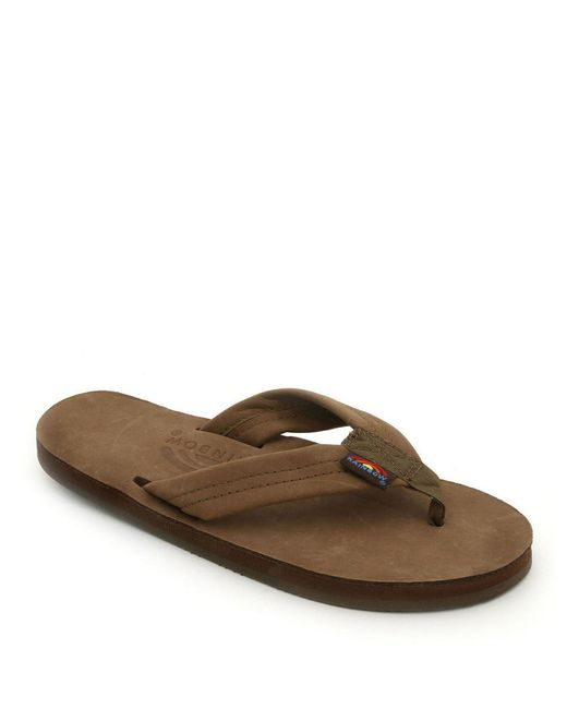 Rainbow Sandals - Brown Premier Flip-flops - Lyst