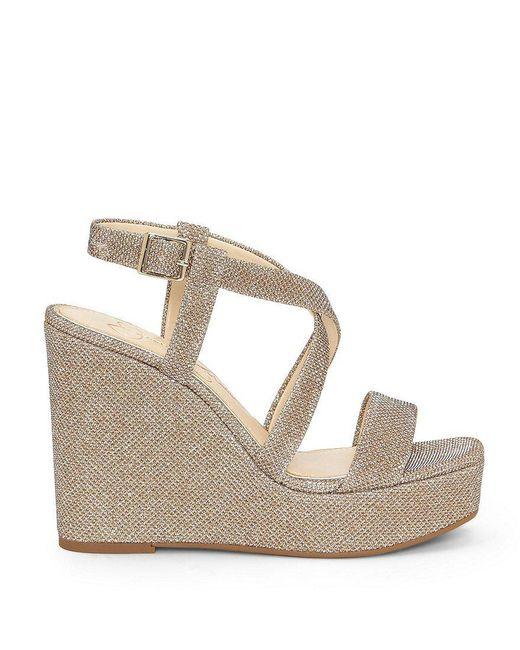 Jessica Simpson Salona Shimmer Wedge Sandals 1vIEzQ0S1X