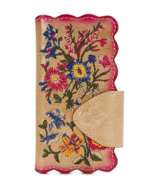 Patricia Nash | Multicolor Prairie Rose Embroidery Collection Alessandria Phone Wallet | Lyst