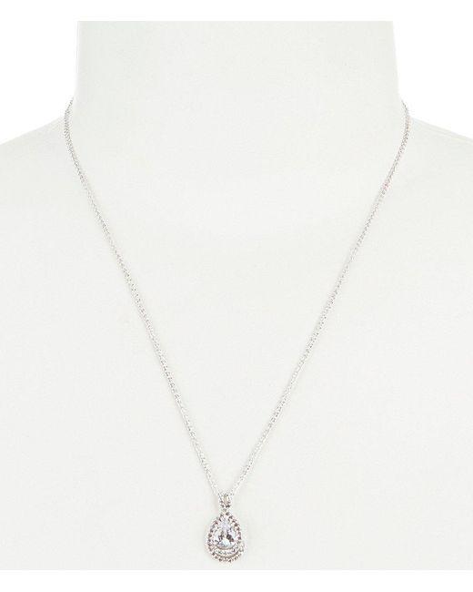 Nadri | Metallic Dolce Cubic Zirconia Small Collar Necklace | Lyst