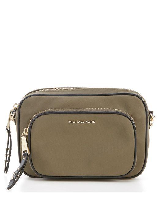 ca13074c65 MICHAEL Michael Kors Large Leila Camera Bag in Green - Save 40% - Lyst