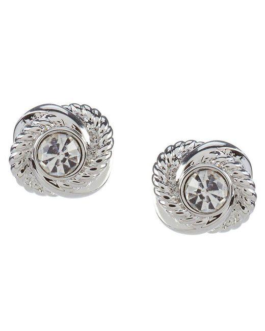 Kate Spade | Metallic Infinity & Beyond Gold Plated Knot Stud Earrings | Lyst
