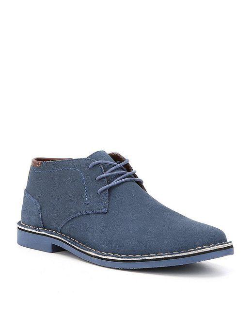Kenneth Cole Reaction   Blue Men's Desert Sun Chukka Boots for Men   Lyst