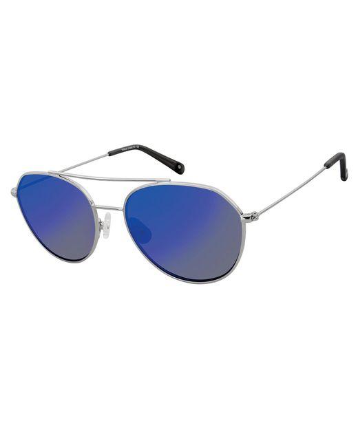 Vince Camuto - Metallic Geometric Tear Drop Aviator Sunglasses - Lyst