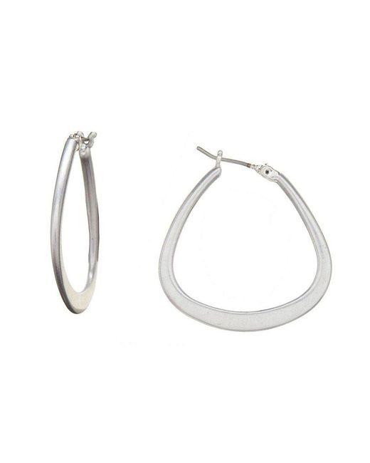 Kenneth Cole | Metallic Hoop Earrings | Lyst