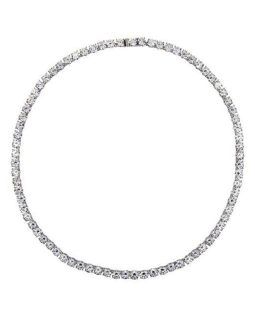 Nadri   Metallic All-around Cubic Zirconia Necklace   Lyst