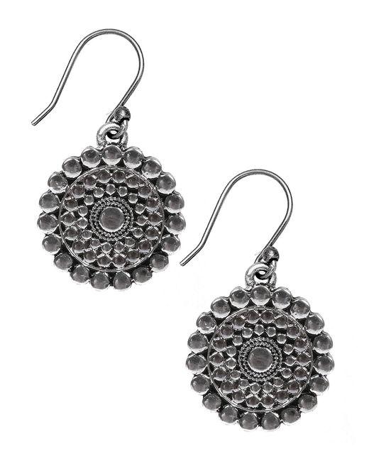 Lucky Brand | Metallic Silver-tone Drop Earrings | Lyst