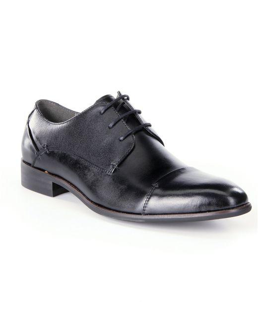 Steve Madden | Black Lewwy Cap-toe Dress Shoes for Men | Lyst