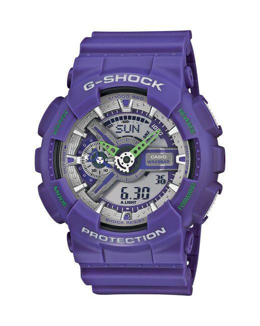 G-Shock | Purple Ana-digi Watch | Lyst
