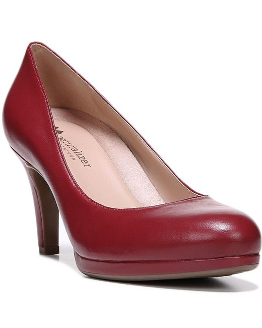 Naturalizer   Red Michelle Pumps   Lyst