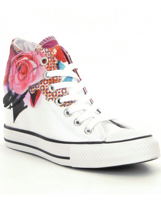 converse chuck taylor174 all star174 lux women180s wedge