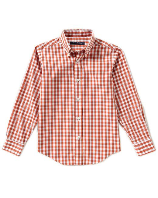 Brooks Brothers | Red 4-20 Non-iron Mini Checked Shirt for Men | Lyst