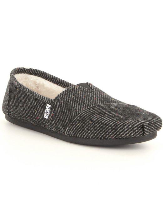 TOMS | Black Seasonal Alpargata Shoes | Lyst