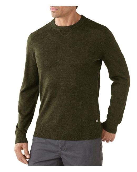 Smartwool | Green Kiva Ridge Crew Sweater for Men | Lyst