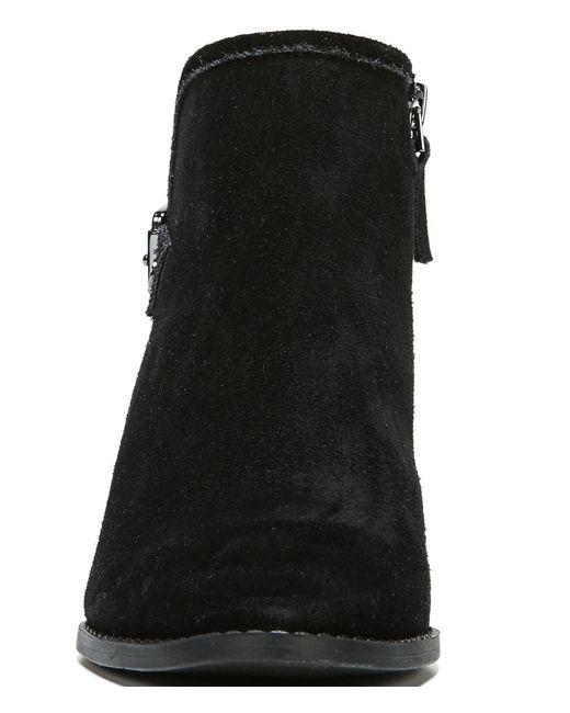 franco sarto wichita suede wedge boots in black save 29