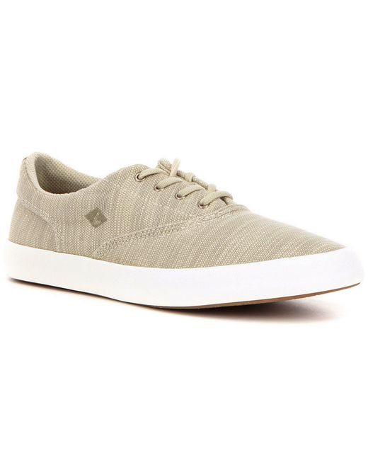 Sperry Top-Sider | Multicolor Men ́s Wahoo Cvo Baja Canvas Vulcanized Lace Up Sneaker for Men | Lyst