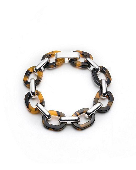 Lauren by Ralph Lauren | Metallic Tortoise Link Bracelet | Lyst