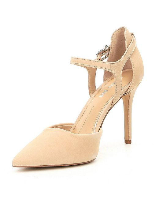 Andresa Elko Nubuck Pointy Toe Pumps sq5hnoP7w