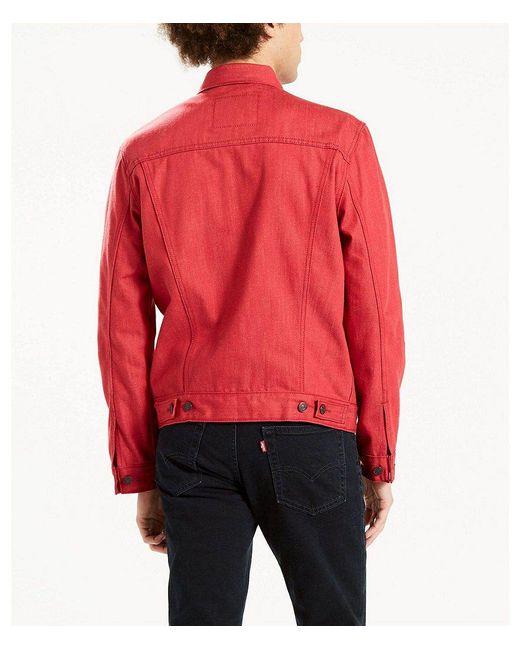 Levis polished black jacket