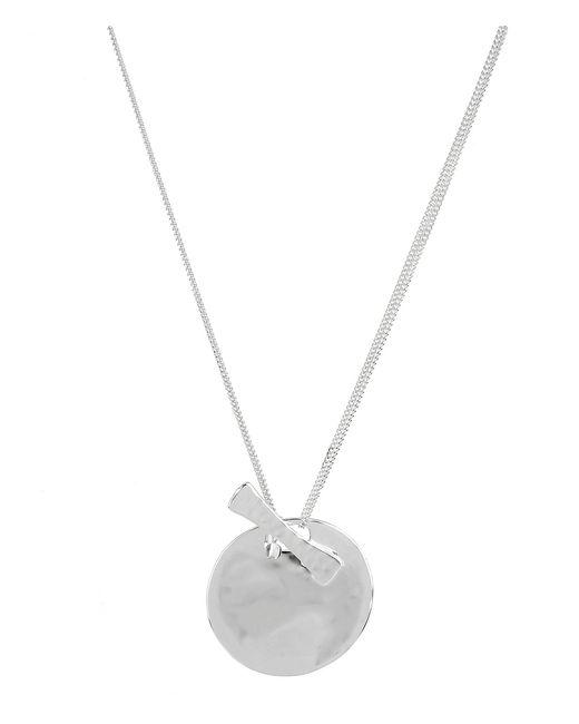 Robert Lee Morris - Metallic Sculptural Circle Pendant Necklace - Lyst