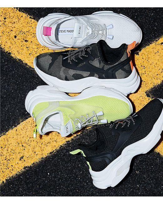 947dc464551 ... Steve Madden - Black Myles Sneaker - Lyst ...