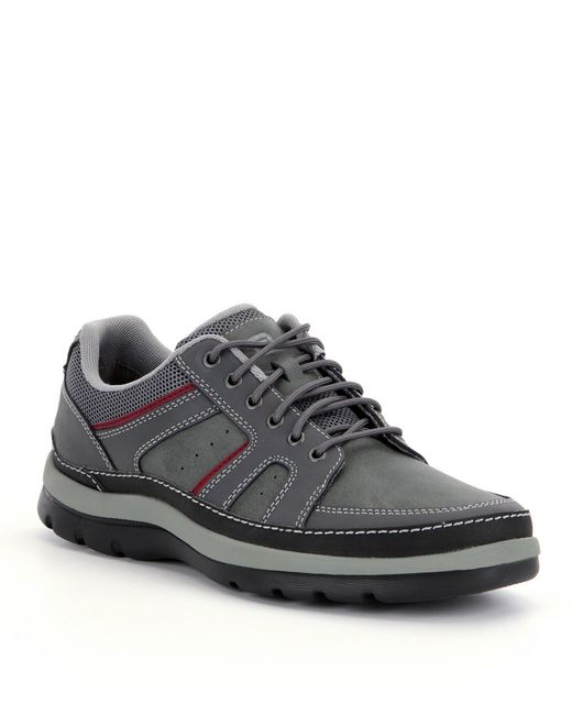 Rockport Gray Men ́s Get Your Kicks Mudguard Blucher Sneakers for men