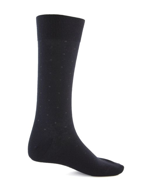 Polo Ralph Lauren - Black Combed Cotton Dress Socks 3-pack for Men - Lyst