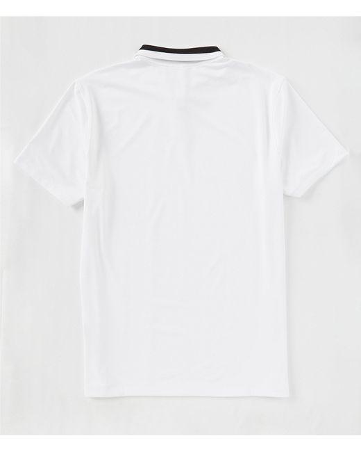 3d8708511 Nike Dry Vapor Print Polo (white/black/white) Clothing in Black for ...