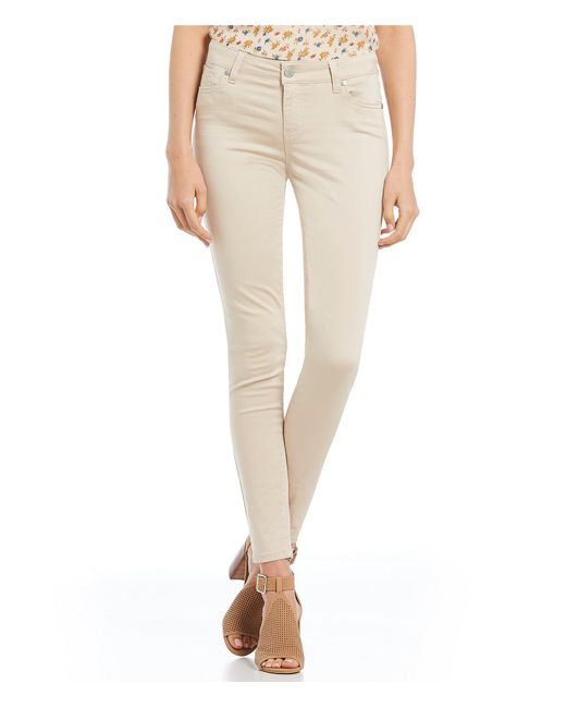 Celebrity Pink - Natural Mid Rise Skinny Pants - Lyst