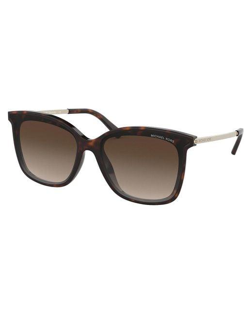 e0388eaccb Michael Kors - Brown Zermatt Sunglasses - Lyst ...
