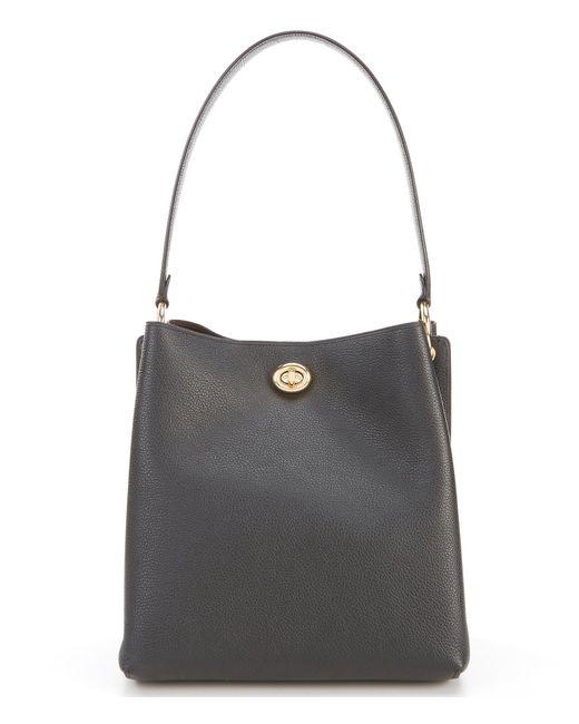 4c72e5e615306 COACH - Black Charlie Turnlock Bucket Bag - Lyst ...