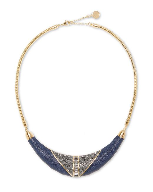 Vince Camuto - Metallic Geometric Statement Collar Necklace - Lyst