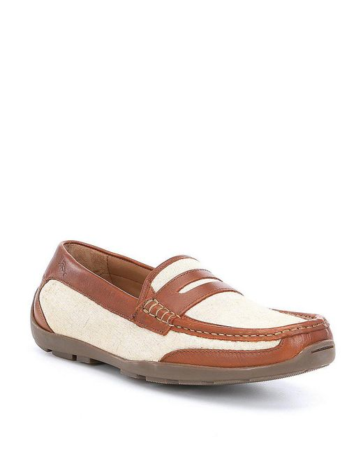 Tommy Bahama | Brown Men's Taza Fronds Loafers for Men | Lyst