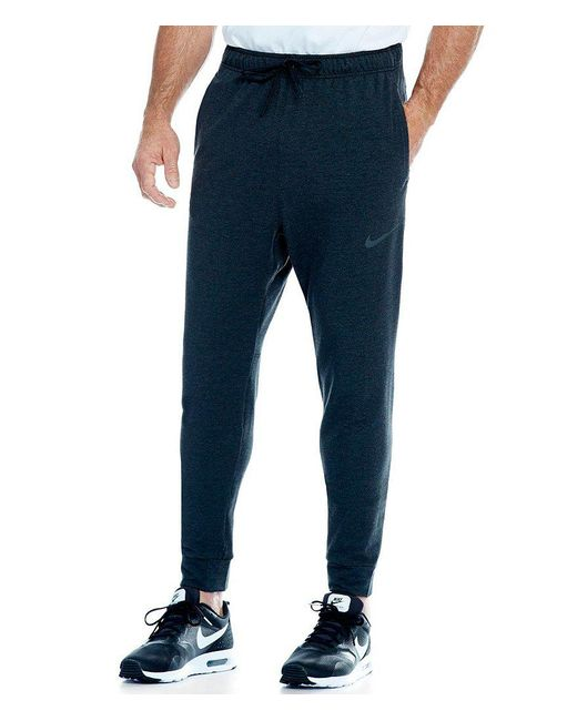 Nike | Black Dri-fit Fleece Training Pants for Men | Lyst