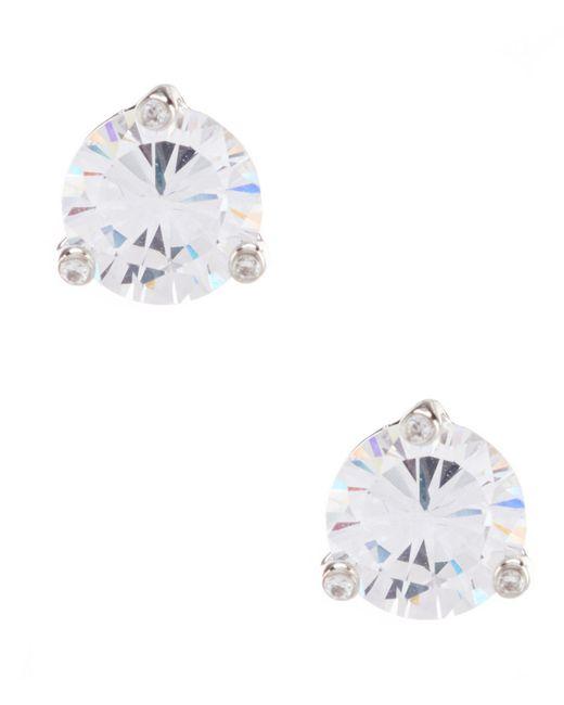 Kate Spade - Metallic Cubic Zirconia Stud Earrings - Lyst