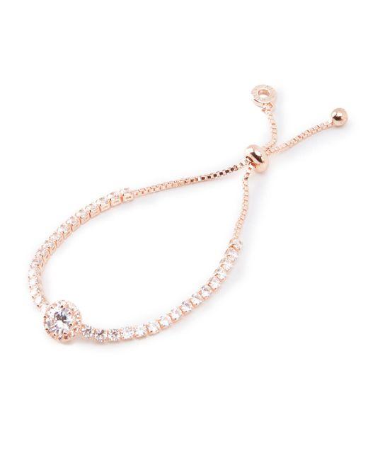 Anne Klein - Metallic Rose Gold Bracelet - Lyst