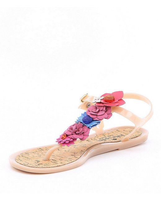 kate spade new york Fatema Flower Jelly Sandals QokNisY