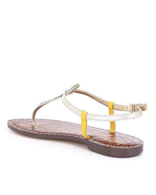 Sam Edelman Gigi Striped Calf Hair Sandals seX2Uybz