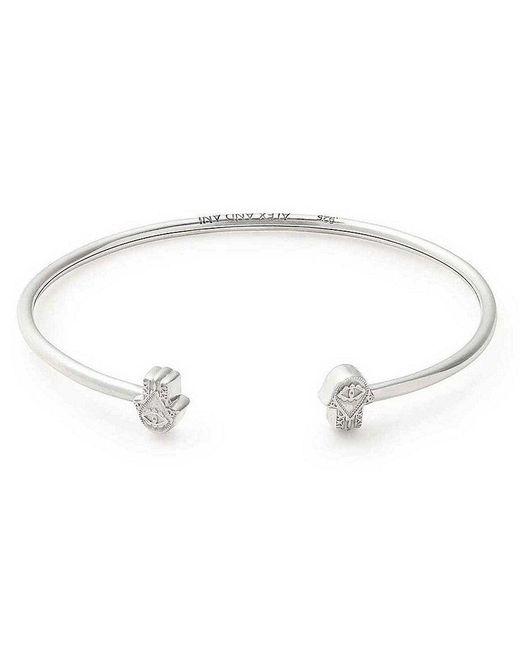 ALEX AND ANI | Metallic Hand Of Fatima Precious Cuff Bracelet | Lyst