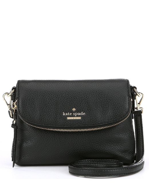 Kate Spade - Black Jackson Street Collection Small Harlyn Cross-body Bag - Lyst